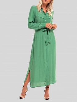 Long Dress Green