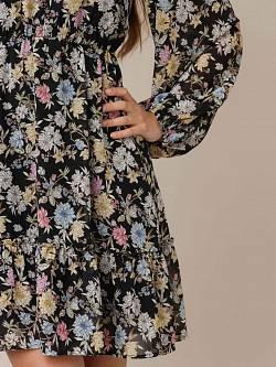 Cleo Dress Flowerprint