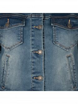 Jacket Jeans Cropped