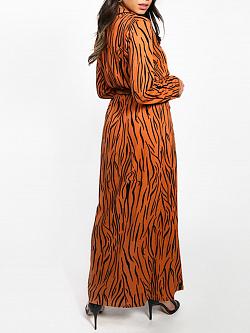 Dress Maxi Zebra