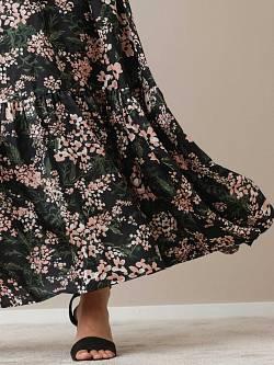 Maxi Skirt Flower