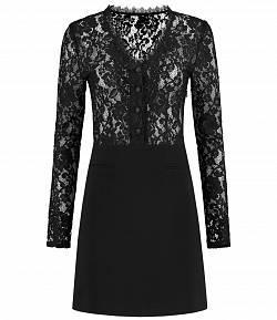 Nikkie 'Rumi' jurk zwart met kant
