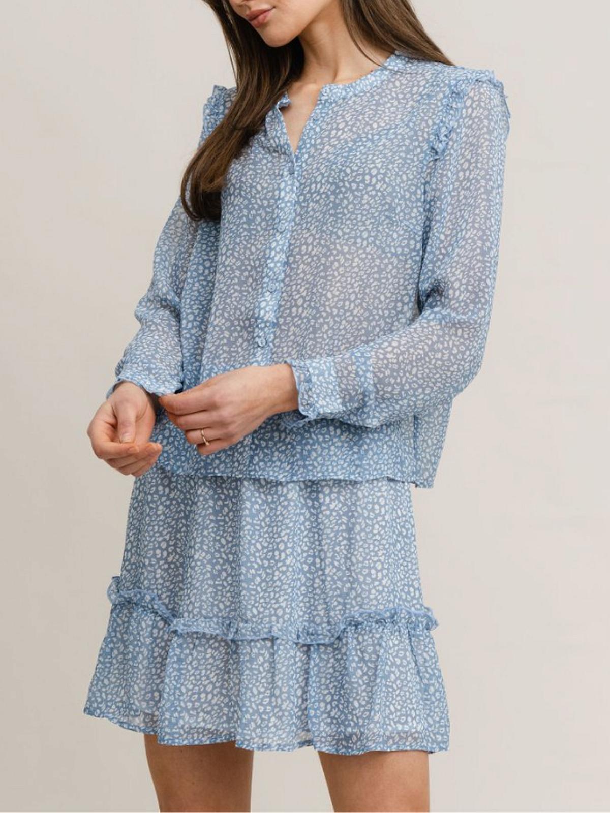 Vivian Bloes Blauw