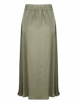 Skirt Satin Light Green